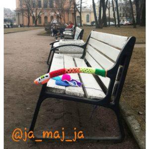 скамейка у михайловского