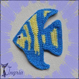 рыбка с лого в рамке